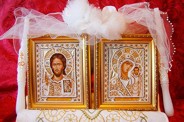 Иконы на подарок венчание 34